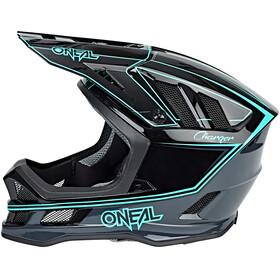 ONeal Blade Helmet Unisex, charger black/teal